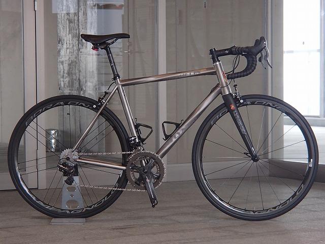 チタン ロードバイク