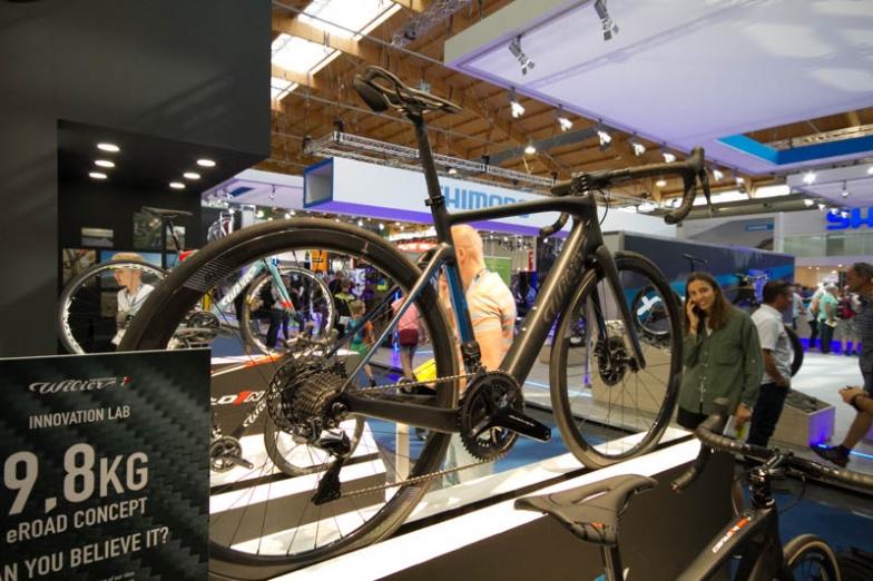 Wilierのeロードバイク試作機