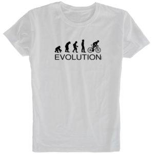サイクルTシャツevolution