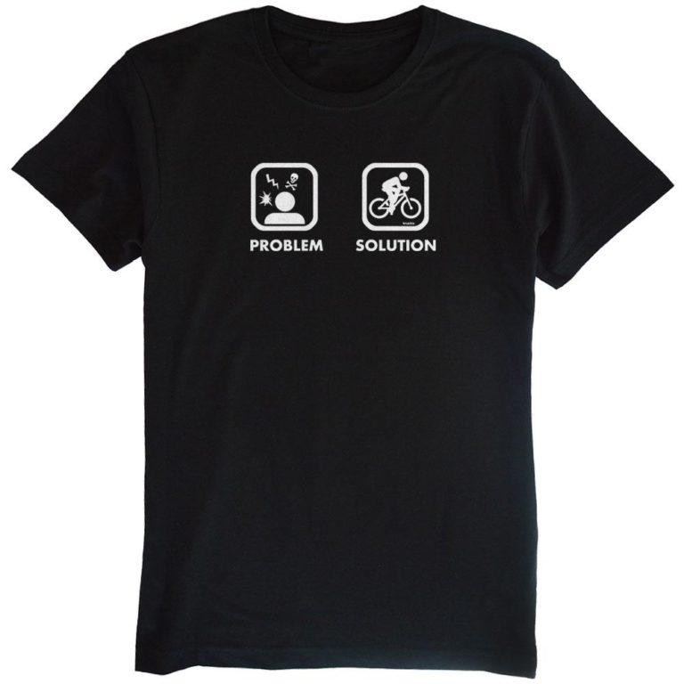 problem-solutionサイクルTシャツ