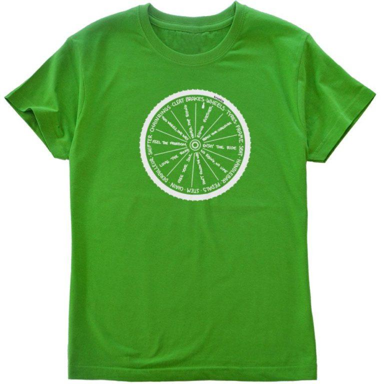サイクルTシャツwheel