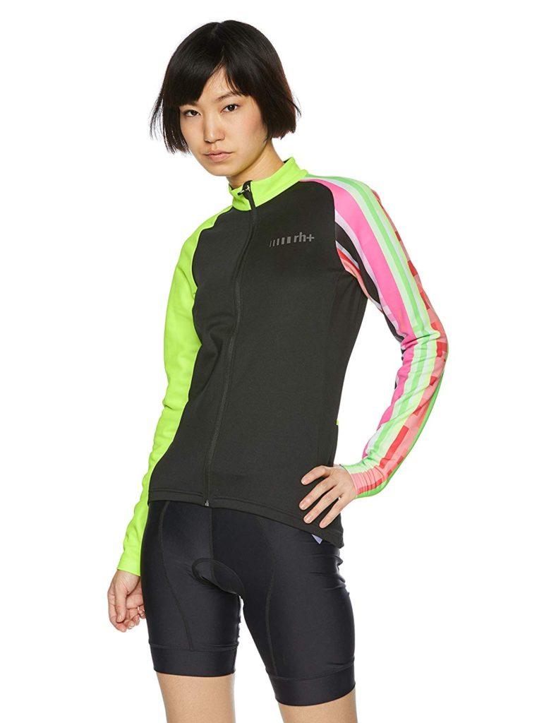 [アールエイチプラス] Fashion Lab サイクル 長袖ジャージ レディース ICD0610