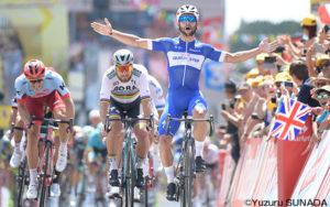 ガビリアがツールデビューでステージ勝利!