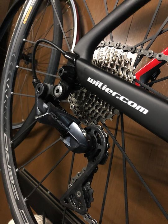 Wilierのロードバイクcento10 Air