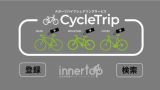 個人間自転車シェアサービス「サイクルトリップ」