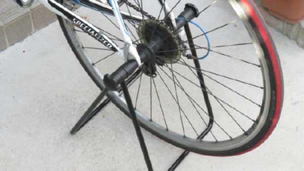 日常使用&メンテナンス用の自転車スタンド