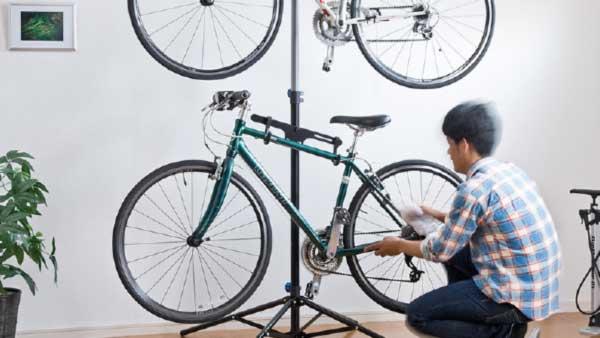 室内保管&ディスプレイ用の自転車スタンド