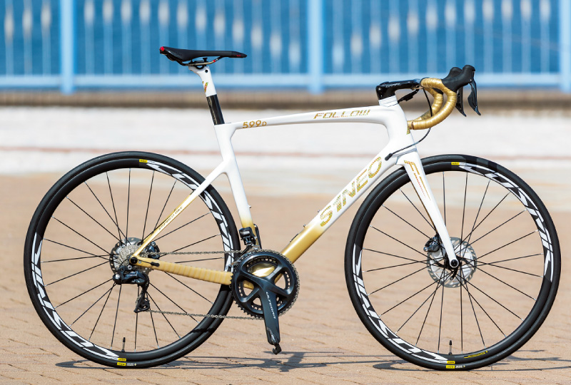 フランスのブランド、S1NEOのロードバイク「599 FOLLOW」