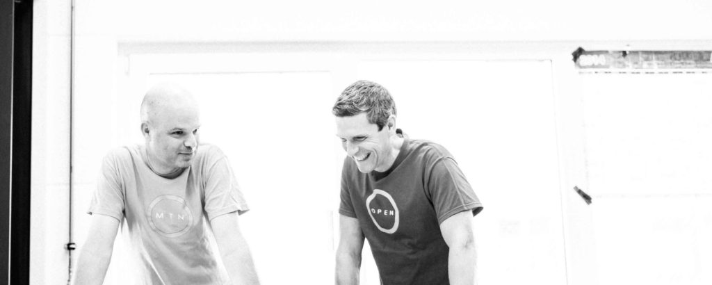 Cerveloの共同創設者であるGerard Vroomen(左)とBMCの元CEOであるAndy Kessler(右)