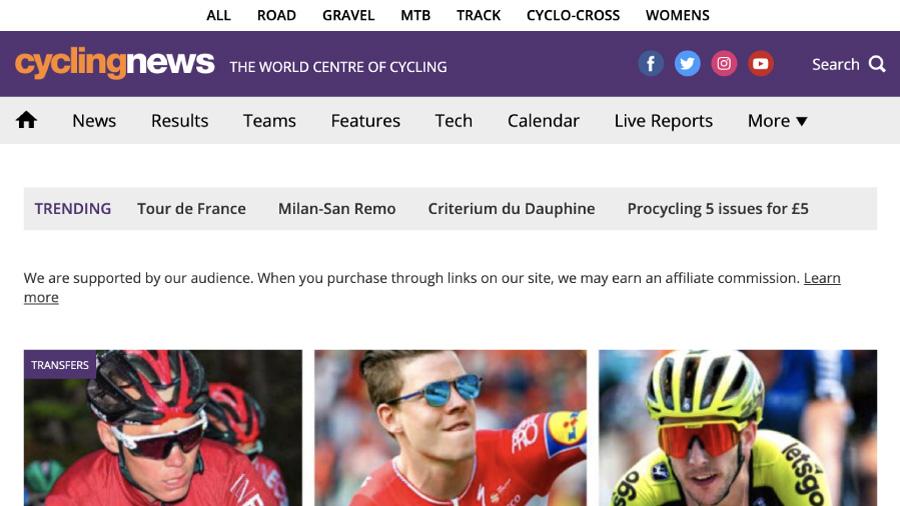 Cyclingnews(サイクリングニュース)