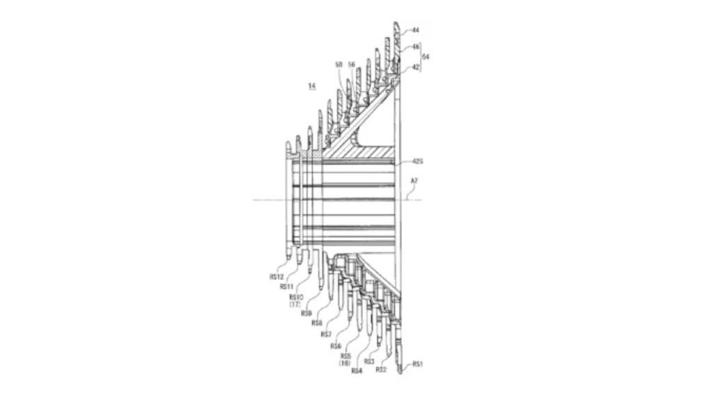 新型デュラエースの12速変速化に関する特許出願