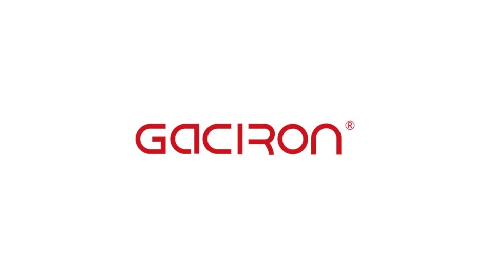 Gaciron(ガシロン)のブランドロゴ / 写真:Gaciron Japan